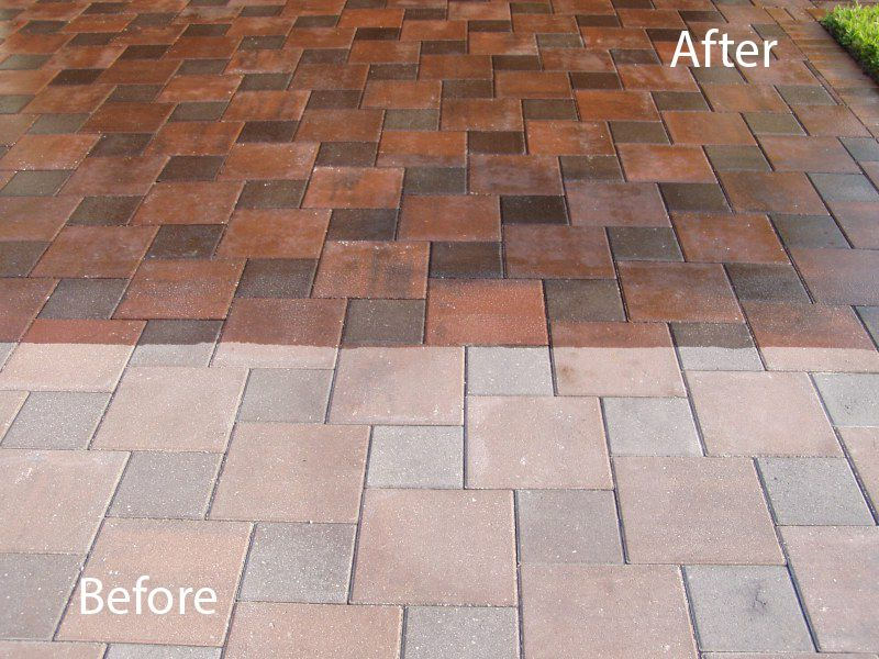 Paver sealer for a wet look in 2020 Sealing pavers