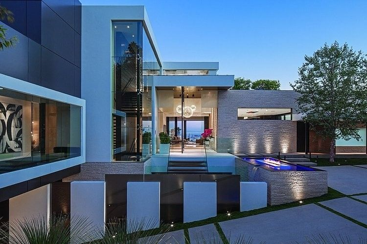 Laurel Way By Whipple Russell Architects Modern Mansion Beverly Hills Houses Beverly Hills Mansion