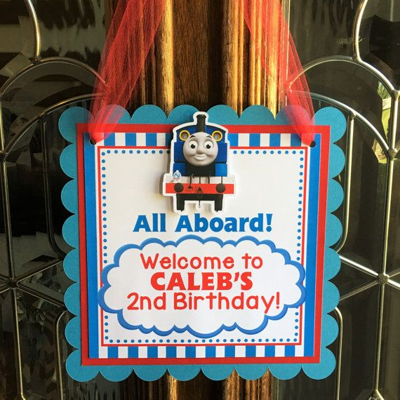 This adorable Thomas door sign is perfect to welcome guests & Welcome to Sweetheart Party Shop! This adorable Thomas door sign ... pezcame.com