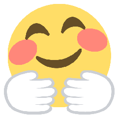 Hugging Face On Emoji One 2 2 5 Emoji Friends Forever Quotes Emoji Cookie