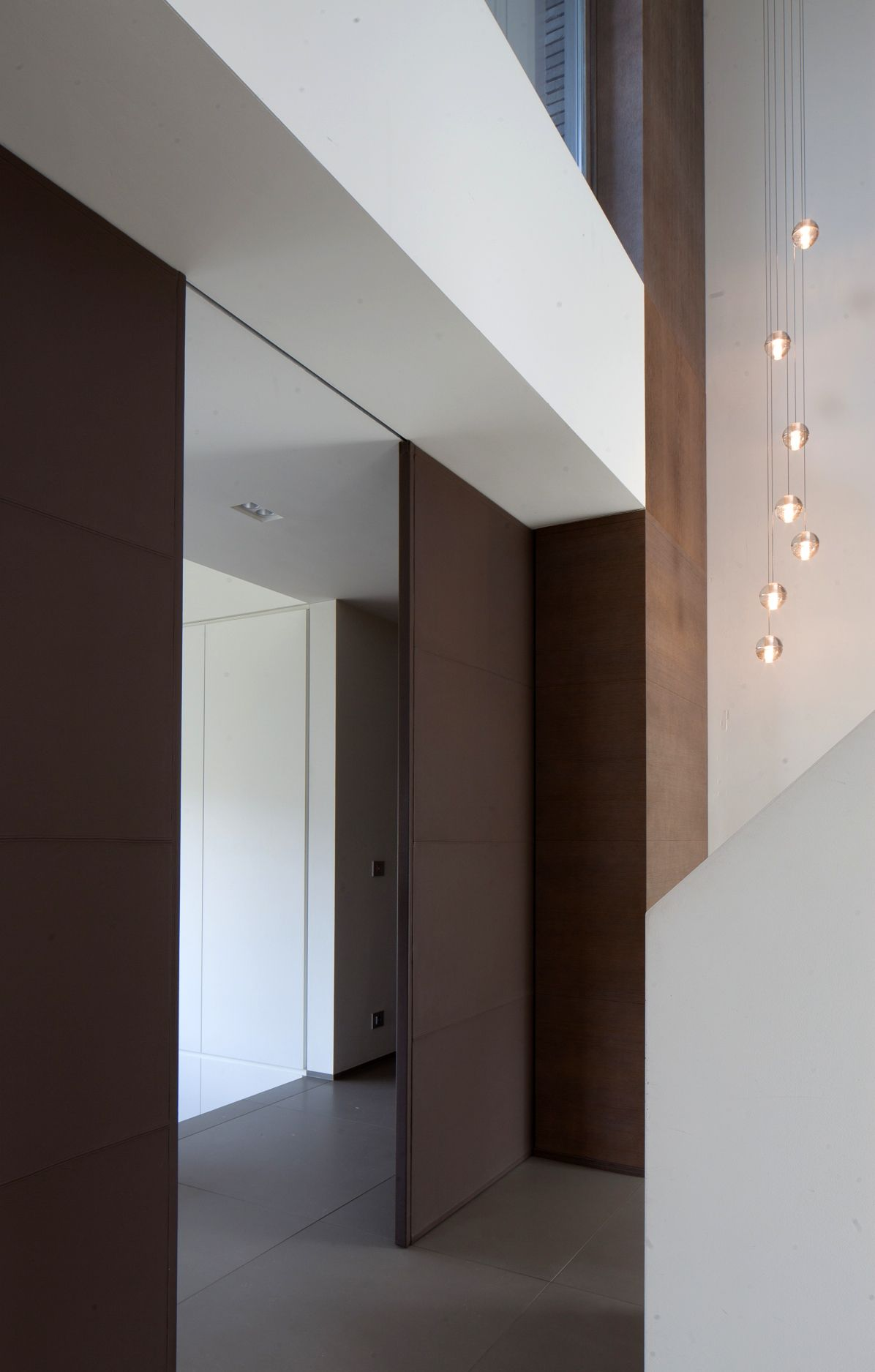 House D. By Deco Lust I Bocci Lighting. Entry HallwayInterior Doors