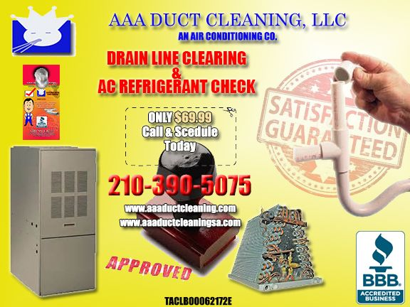 Air Conditioning Drain Line Cleaning And Ac Refrigerant Check