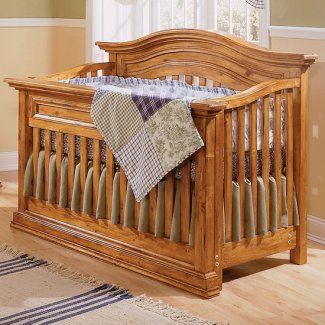 This Bonavita Sheffield Lifestyle Crib In Country Wheat Is Jpma