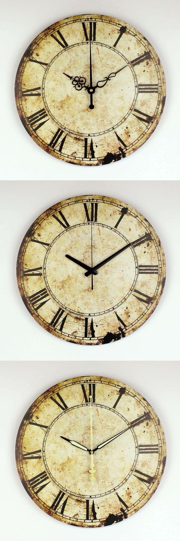 Great Cheap Decorative Wall Clocks Ideas - The Wall Art ...