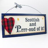 Found it at Wayfair.co.uk - Fun Scottish and Proud of It Plaque