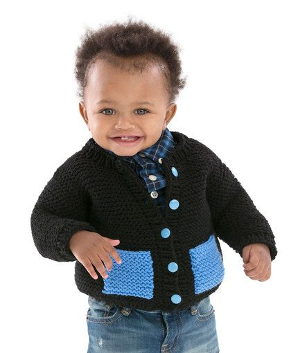 581b00fa4784 Cute   Classic Baby Cardigan - Your little guy will enjoy being able ...