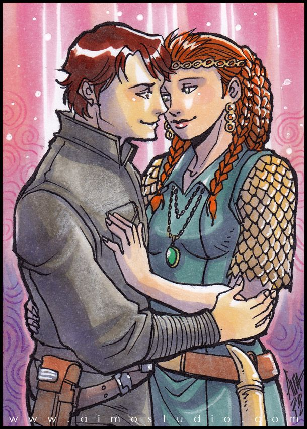 Jacen Solo and Tenel Ka by aimo.deviantart.com My favorite ...