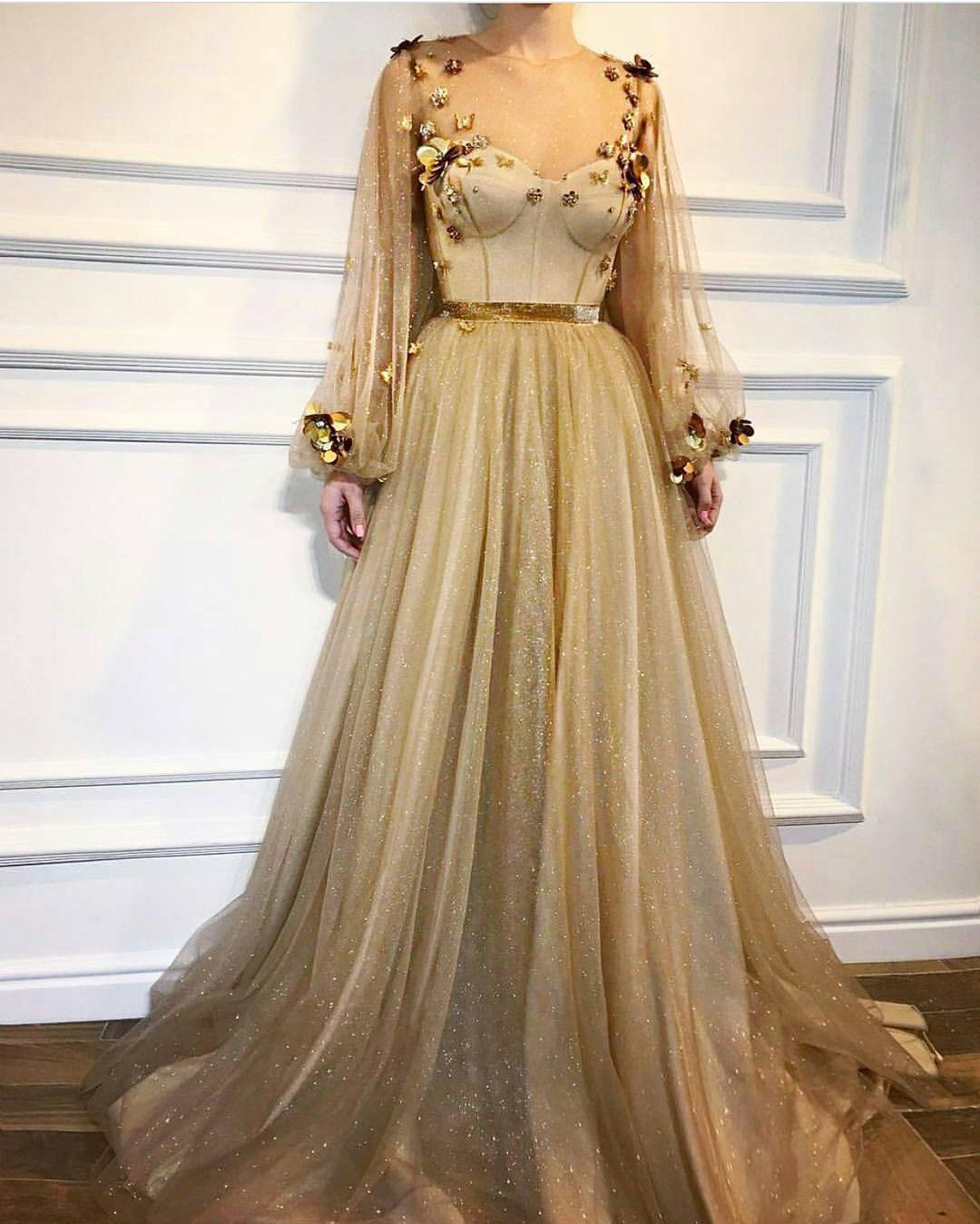 يجنن الفستان سنابي Divaa Ffashion فولو ولايك الله يسعدكم زواج Prom Dresses With Sleeves Prom Dresses Long With Sleeves Prom Dresses Long