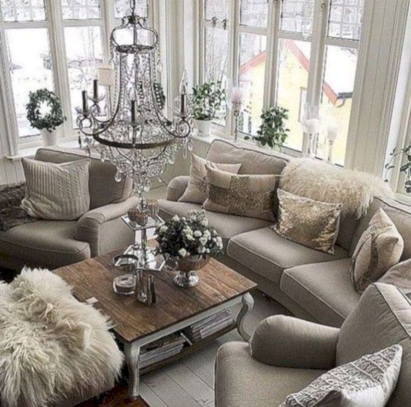 108 Rustic Modern Living Room Decor Ideas images