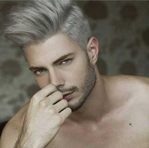 25 Mens Hair Colour White Hair Men Silver Hair Men Mens Hair