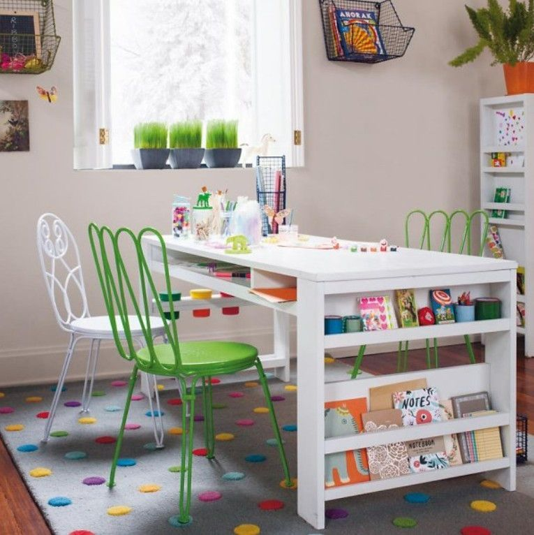 kids craft table ideas