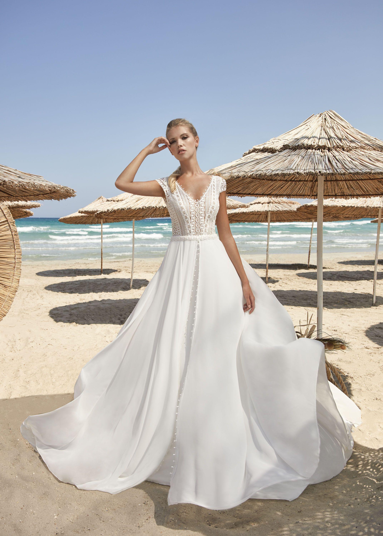 Herve Paris Vergons Brautmode Kleid Hochzeit Brautkleid