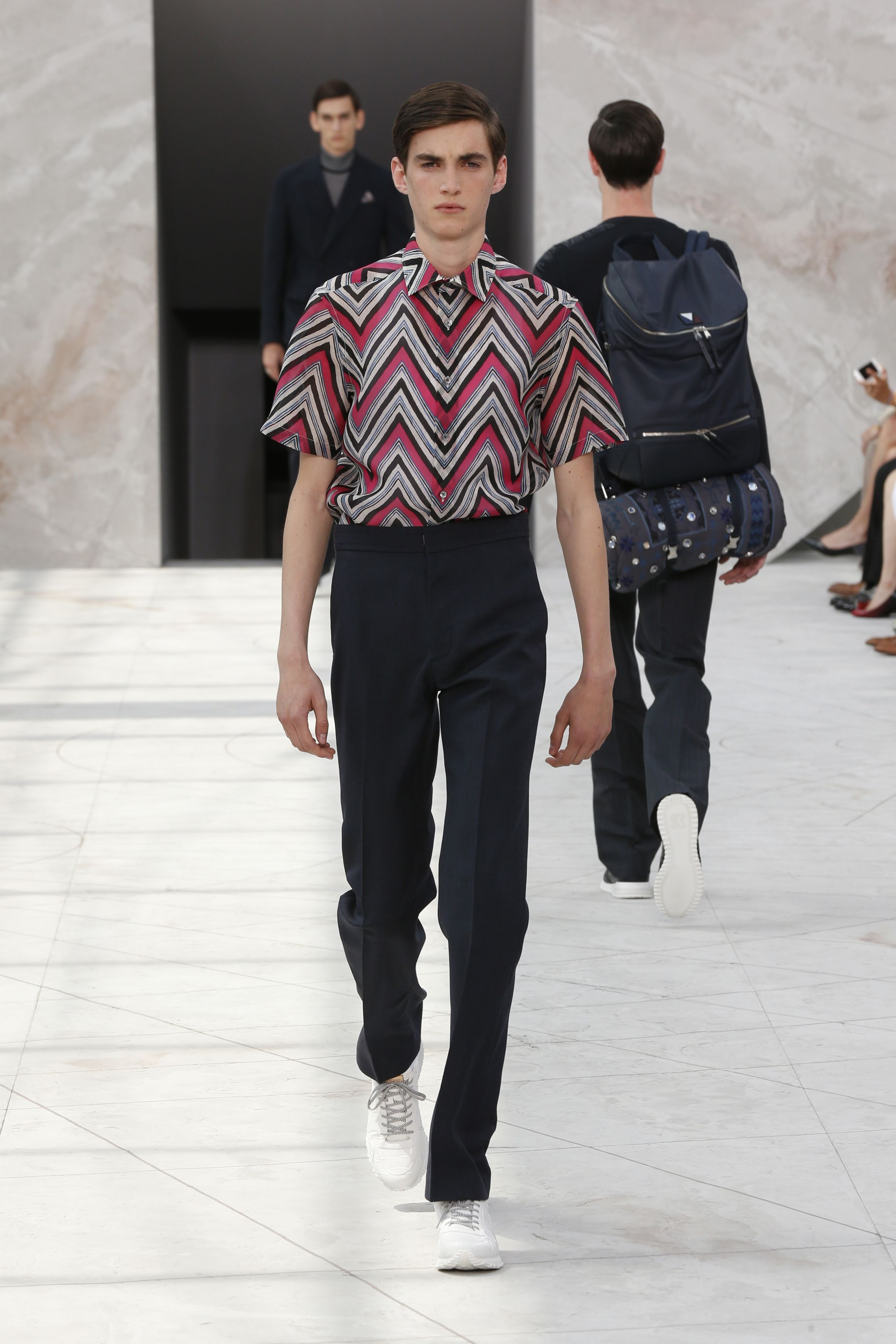 Look 33 from the Louis Vuitton Men s Spring Summer 2015 Fashion Show ... 65d0bbbde3c
