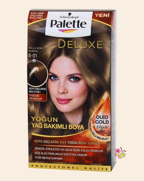 Palette Set Sac Boyasi 8 01 Kullu Acik Kumral Sac Sac Boyasi Palet