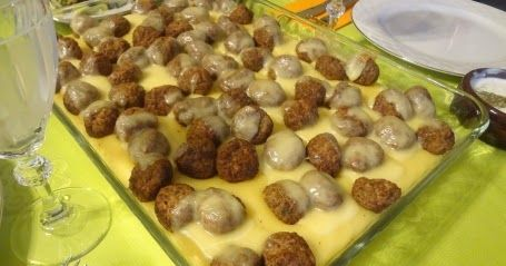 Photo of A stylish presentation … Ingredients For Meatballs: 1 kilogram cup …