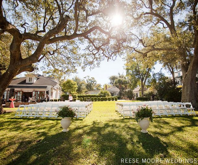 Wedding Venues In Charleston Sc Lowndes Grove Plantation Cost