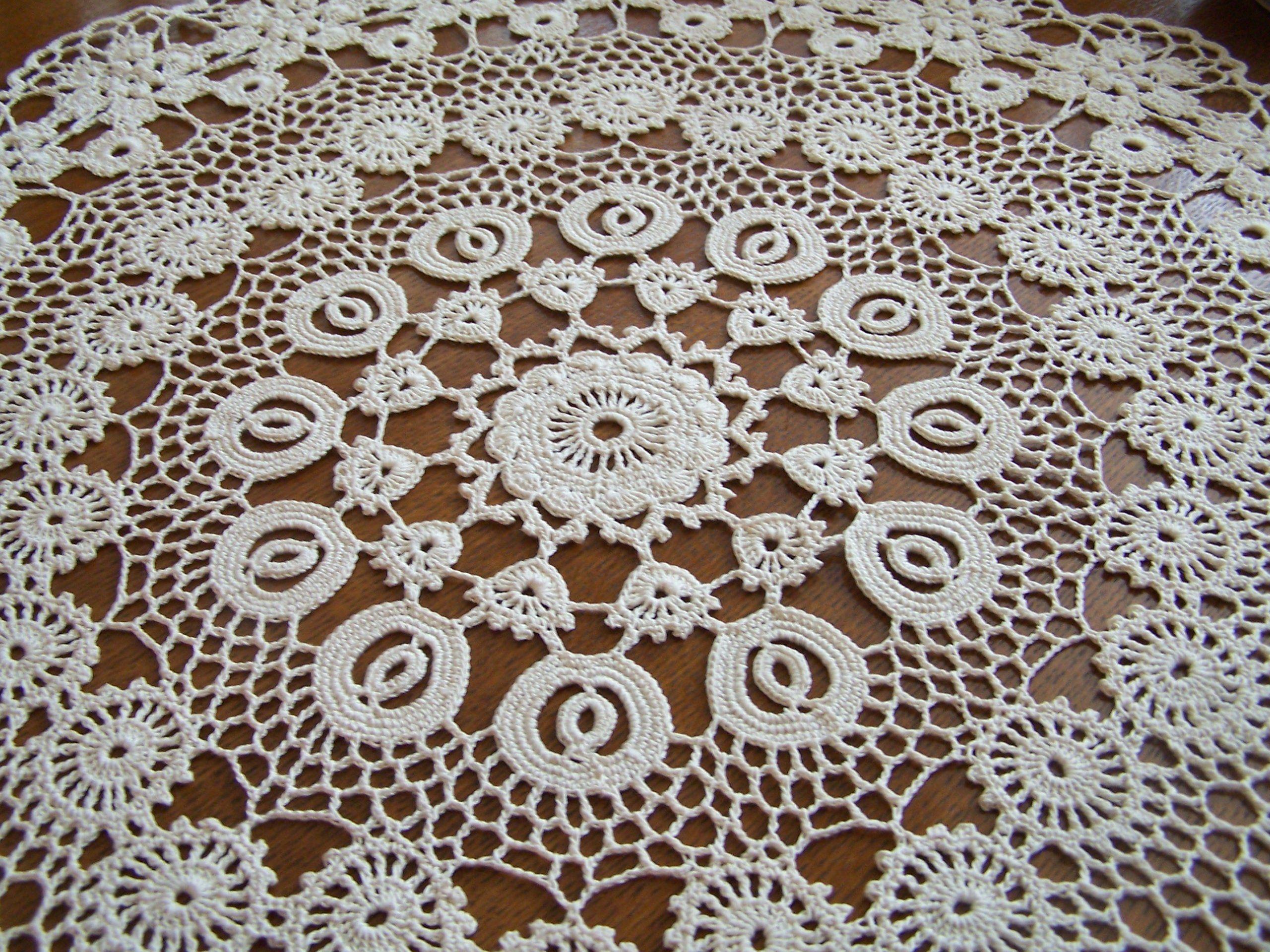 Serweta Bieznik Koronka Irlandzka J Koniakowska 6465499324 Oficjalne Archiwum Allegro Crochet Gifts Crochet Table Runner Baby Knitting Patterns