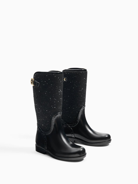 Image 3 of MIXED RAIN BOOTS from Zara