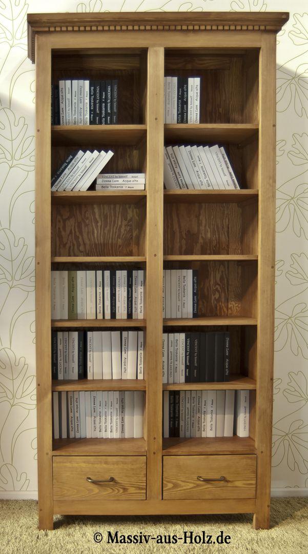 Das Bücherregal hat es in sich - es präsentiert sich einfach