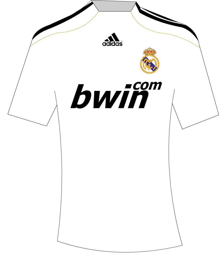 04ee630c304bc Dibujos de algunas Camisetas de Futbol