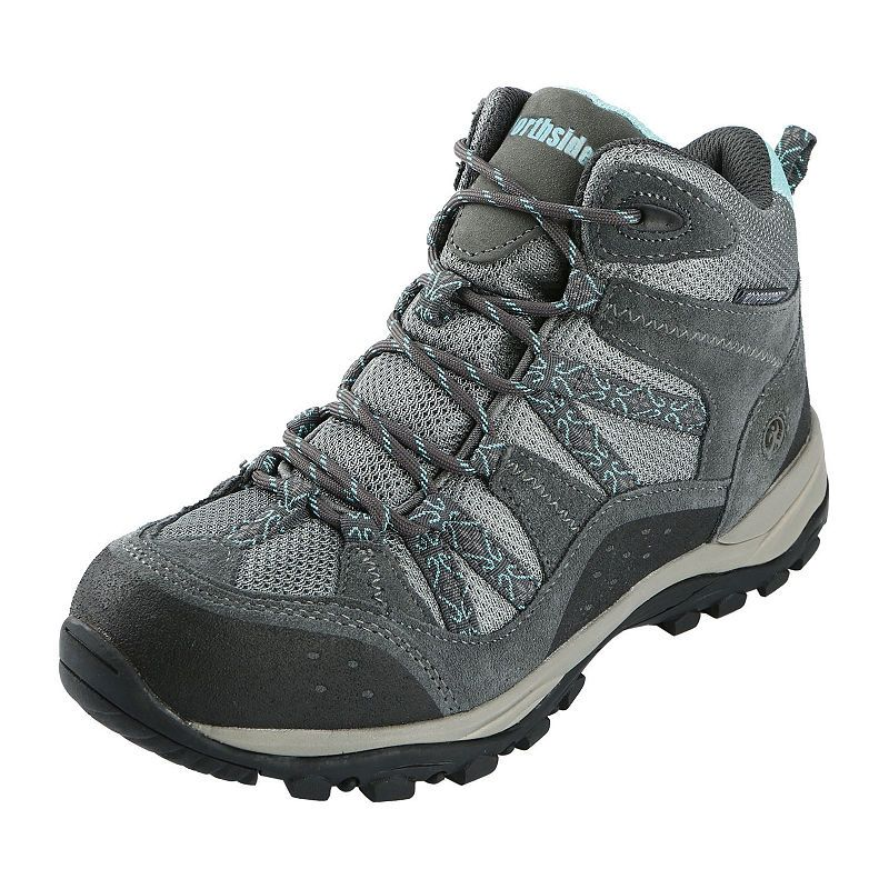 Northside Womens Freemont Wp Hiking Boots Flat Heel Lace up