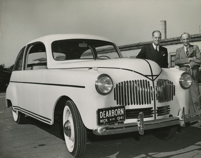 Henry Ford Built A Plastic Car In 1941 That Was Tougher Than Steel Video With Images Car Fuel Henry Ford Ford Motor Company