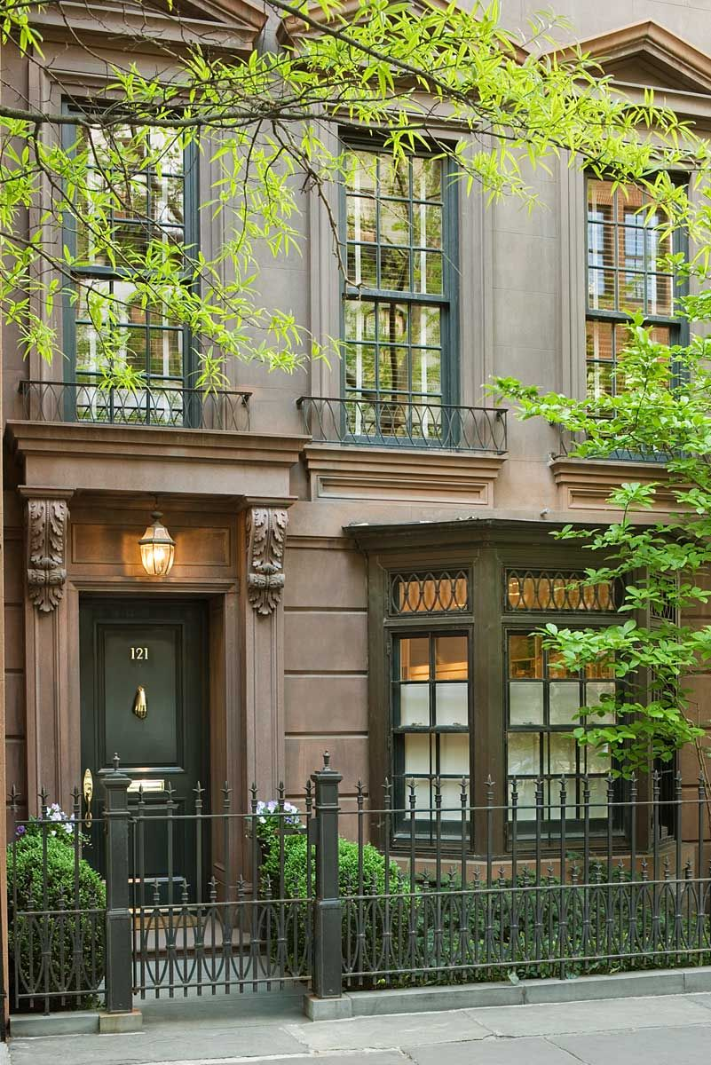 Upper east side townhouse john b murray architect a new for Townhouses for sale in manhattan ny