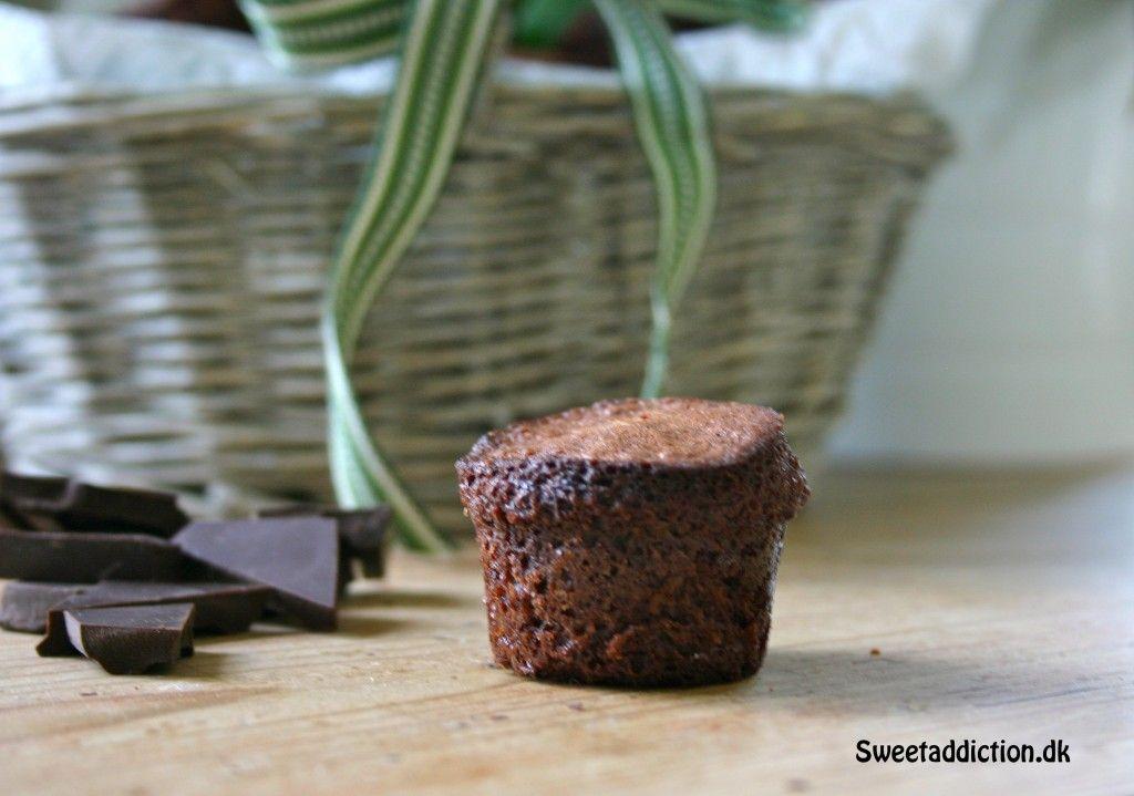 Mini chokolade cupcakes