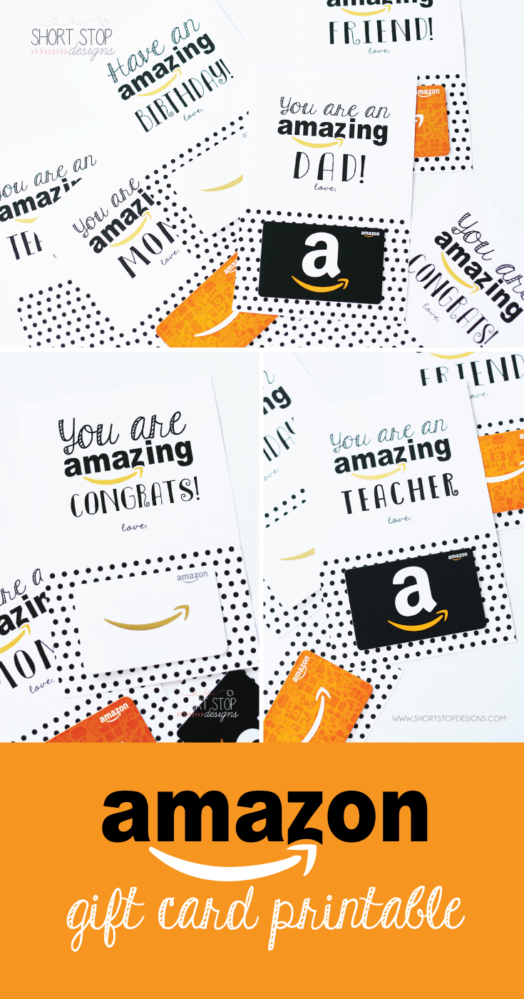 graphic relating to Amazon Printable Gift Card identified as Amazon Reward Card Printables Moms Working day Printable present