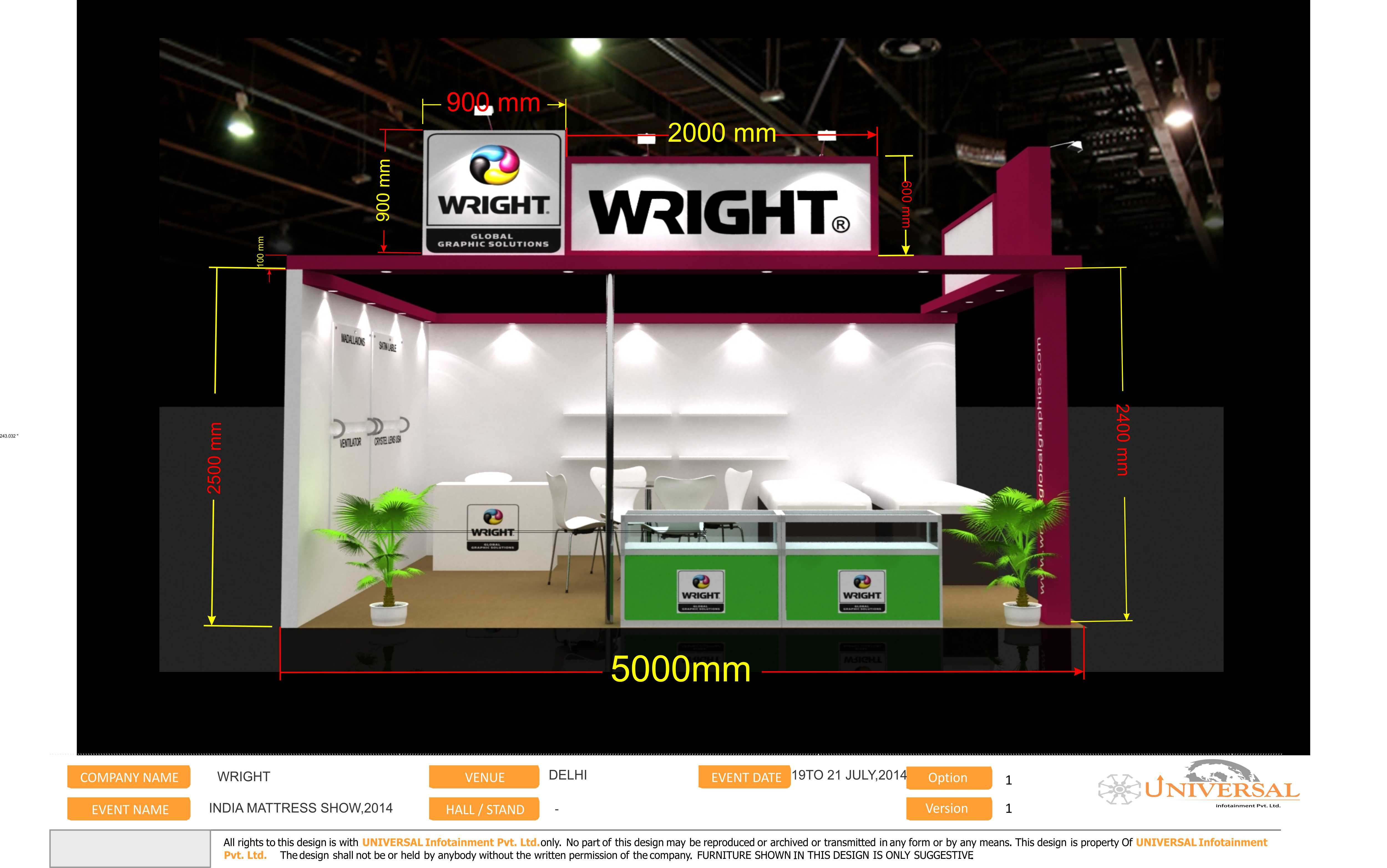 An Exhibition Presentation Created by us. #Exhibitions #ExhibitionDesigns #ModuleExhibitions #SampleExhibitionDesign