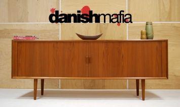 Danish Teak Credenza : Mid century danish modern designer teak credenza svend larsen