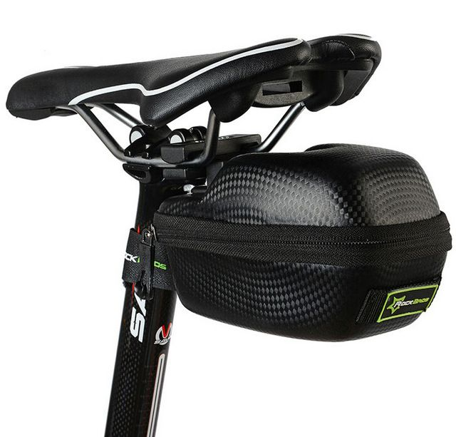 Rockbros Carbon Pattern Bicycle Saddle Bag Outdoor Sports Mtb Road