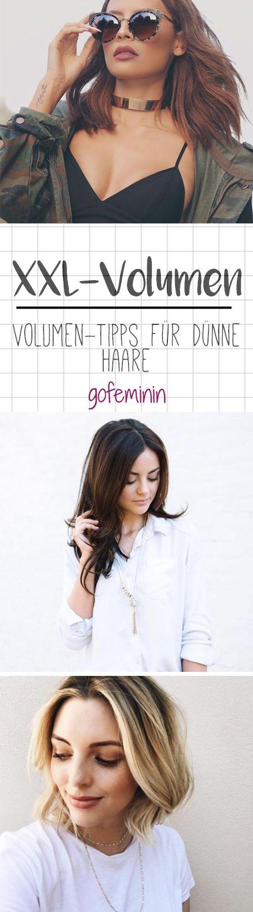 Volumen Tipps Fur Dunnes Haar So Sehen Deine Haare Viel Dicker Aus Dunnes Haar Haarschnitt Ideen Frisuren Langhaar