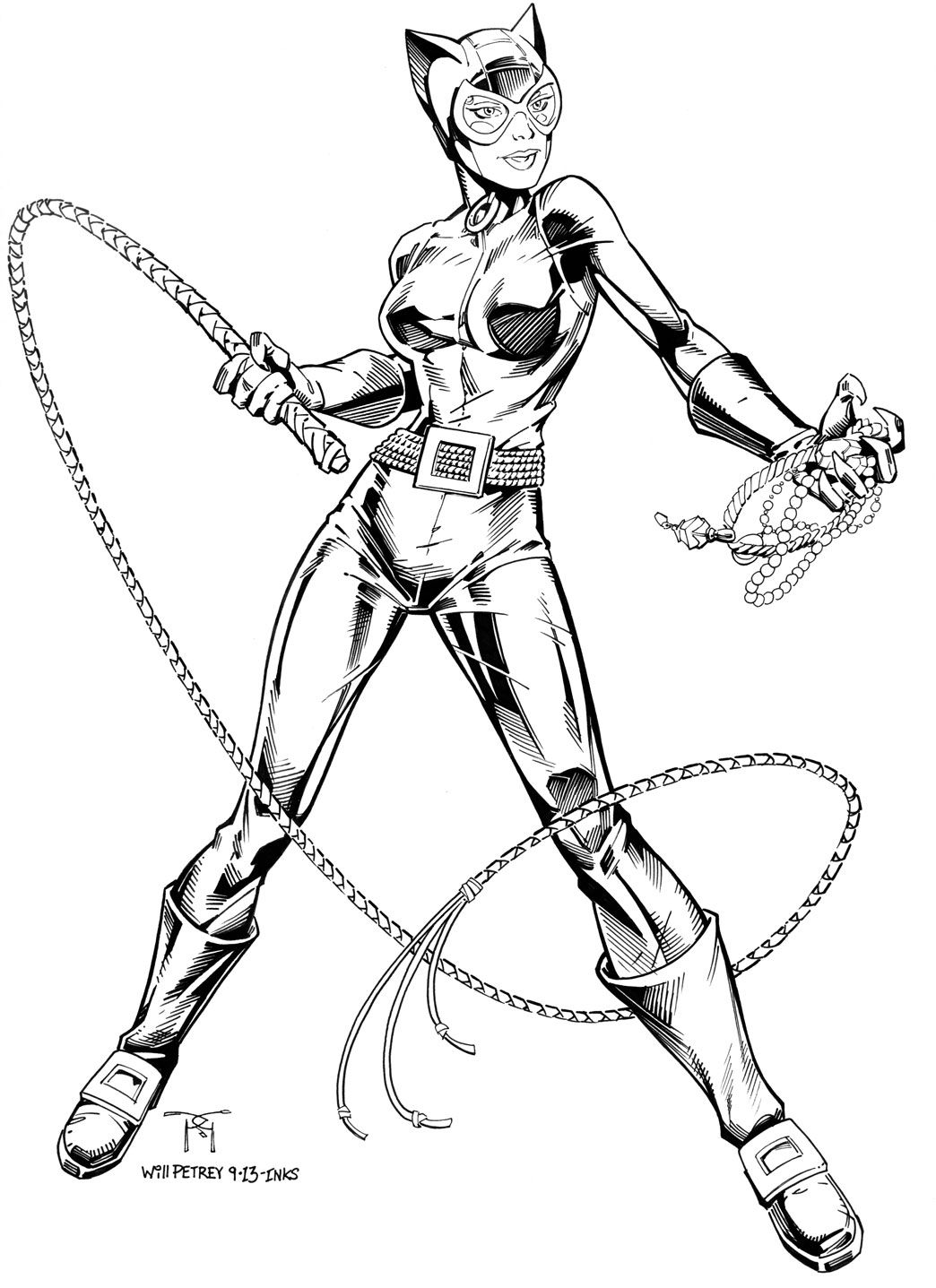 Catwoman by Will Petrey | Catwoman | Pinterest