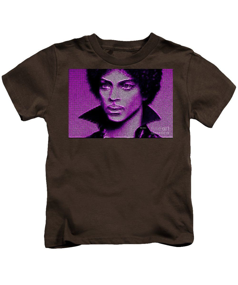 Kids T-Shirt - Prince - Tribute In Purple