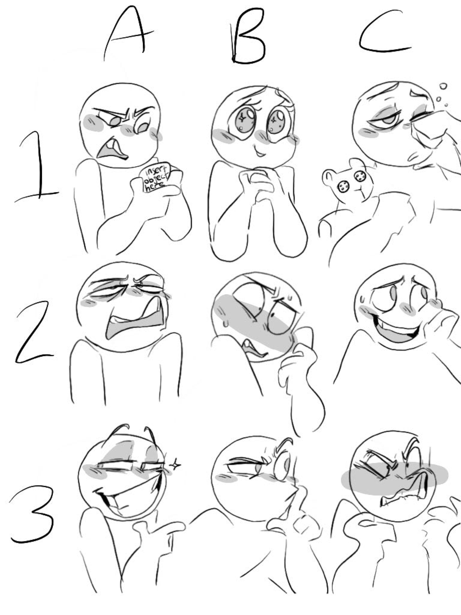Faces And Expressions
