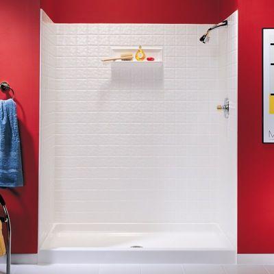 www.theSwancorp.com swan tile shower wall kit 32 x 60 | Riveridge ...