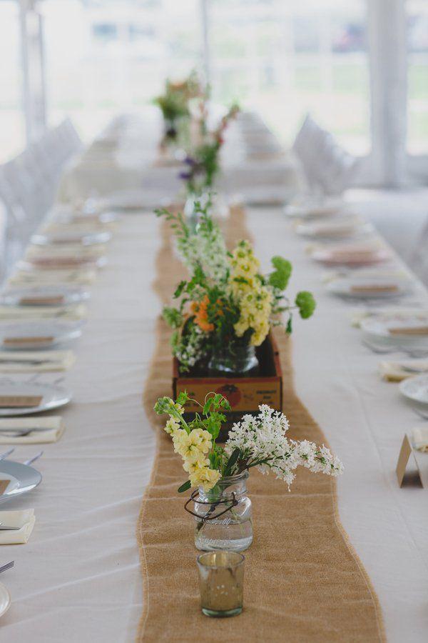 Outdoor Farm Wedding with Do-It-Yourself Charm | Farm ...