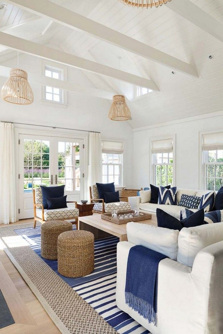 90 Luxury Beach House Interior Design Ideas Coastal Style
