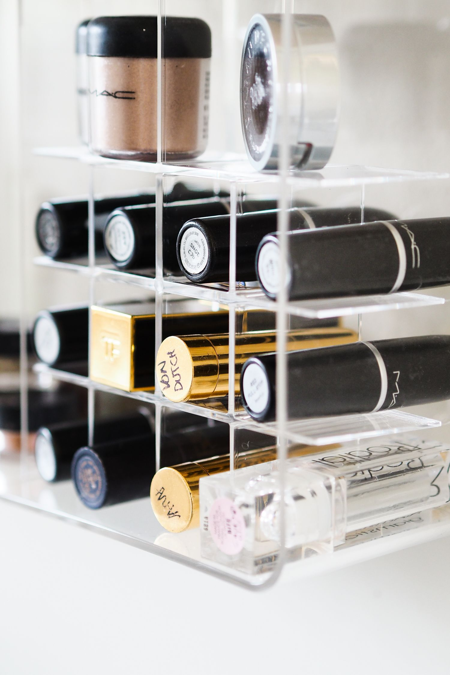 In This Latest Post I Created An Acrylic Makeup Storage