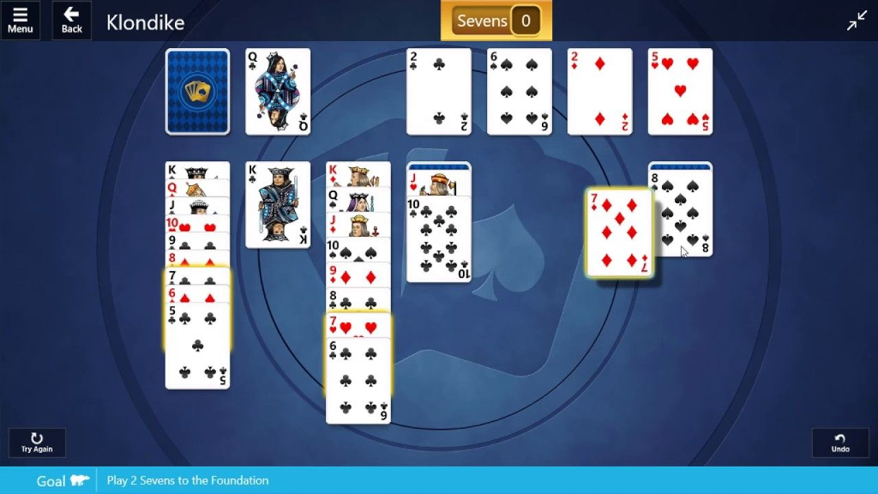 Microsoft solitaire collection klondike 29th december