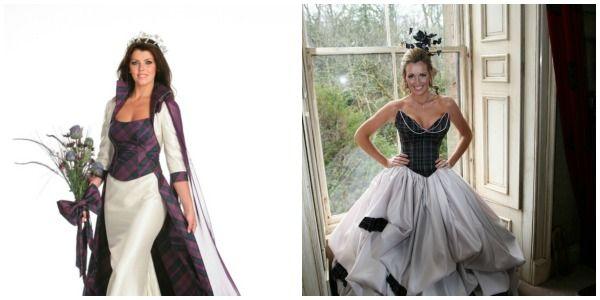 Tartan Wedding Dresses 2017 With Scottish Picmonkey Dress Collage On Ideas
