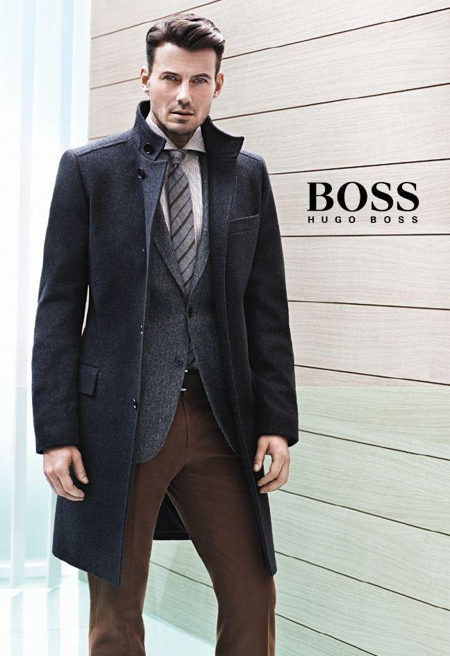 The face of hugo boss