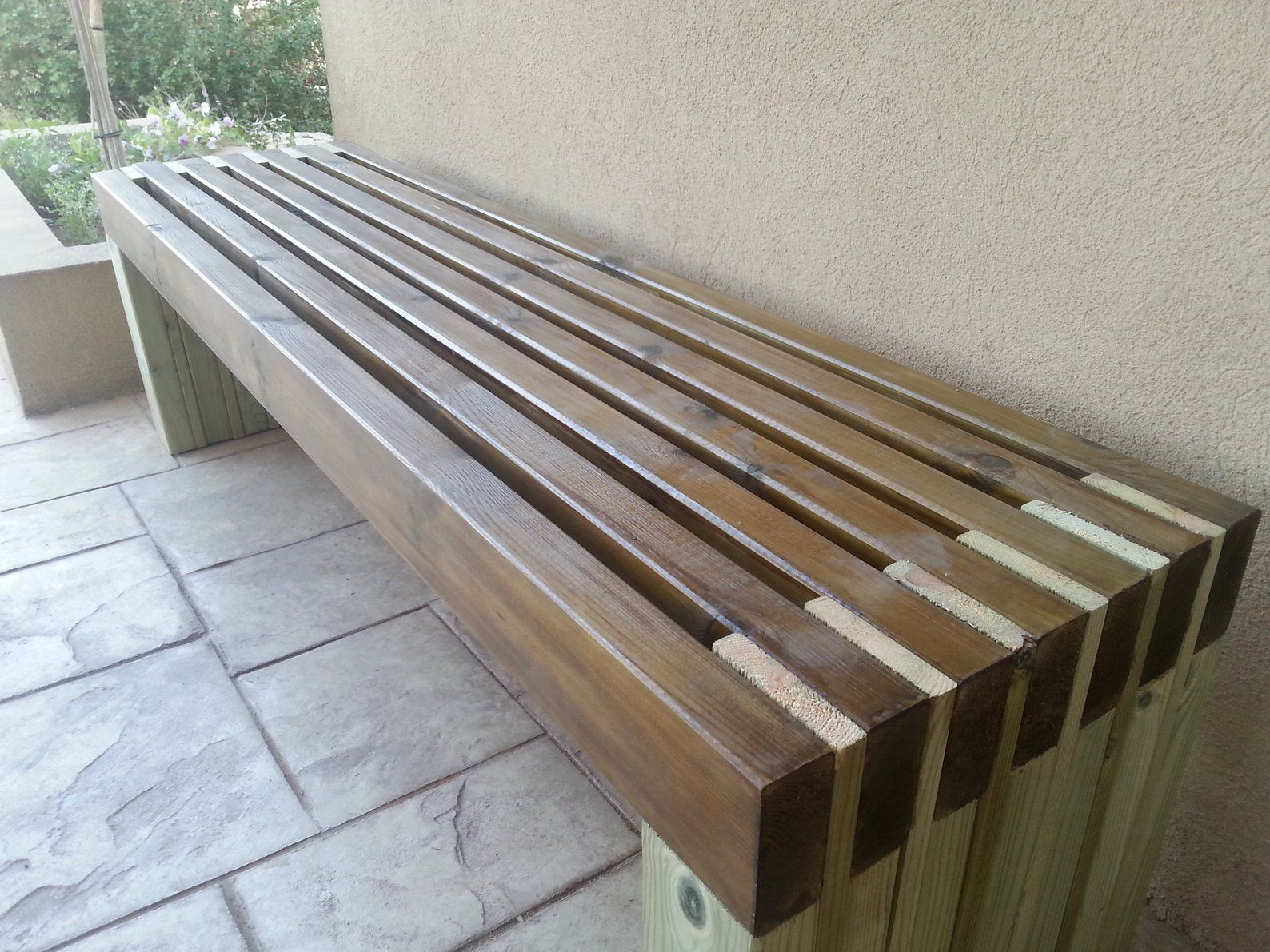 Astonishing Simple Bench Plans Outdoor Furniture Diy 2X4 Lumber Patio Andrewgaddart Wooden Chair Designs For Living Room Andrewgaddartcom