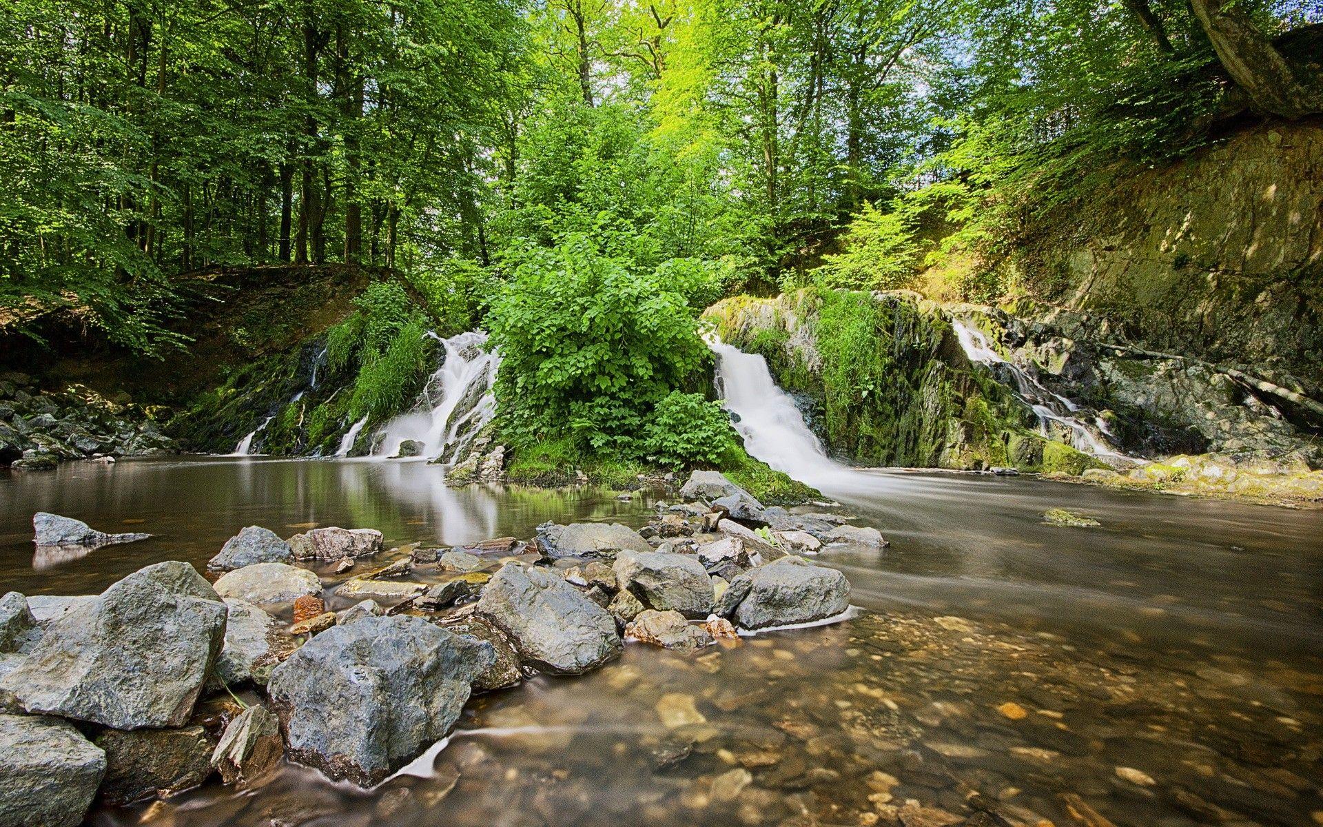 Stunning Waterfalls Hd Desktop Background Wallpapers Hd Free  501705