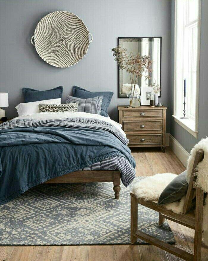 Beste Raumgestaltung, Schlafzimmer Innengestaltung, Schlafzimmer Einrichtung,  Ideen Zur Innenausstattung, Innenraumfarben, Hellblaue Schlafzimmer, ...