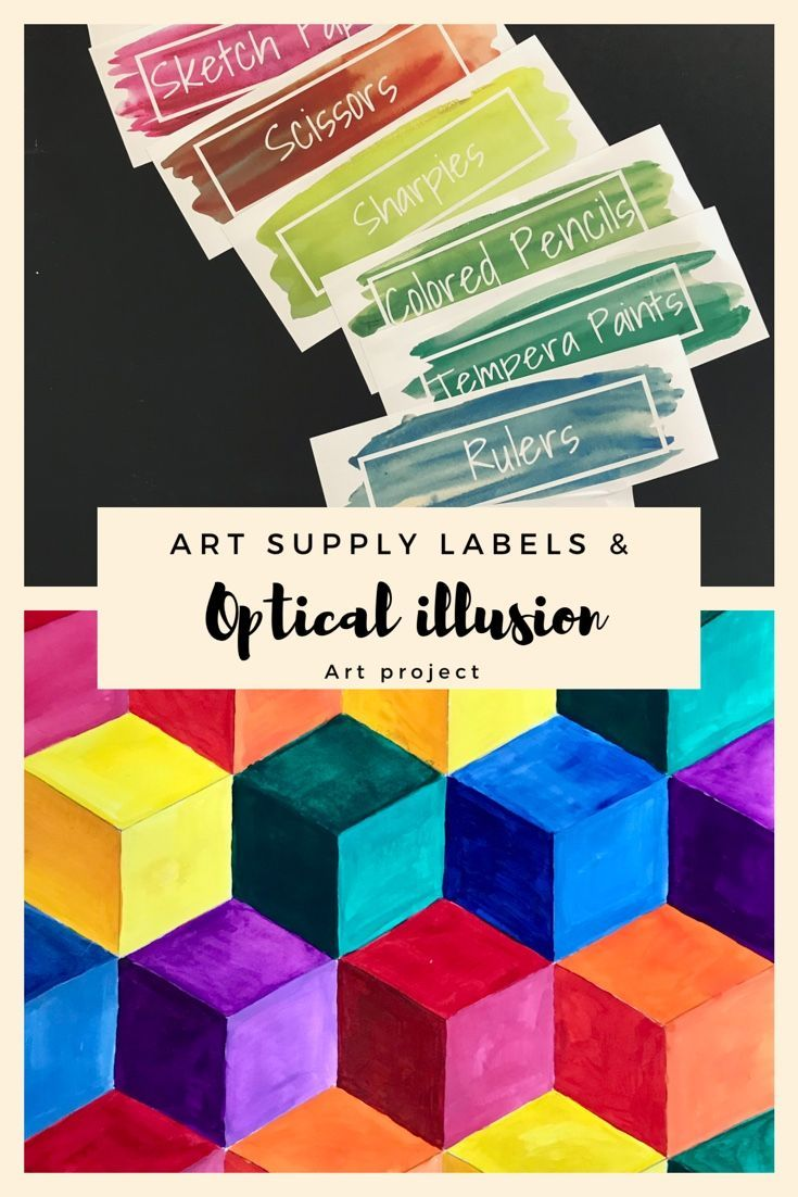 Art project for elementary or middle school students