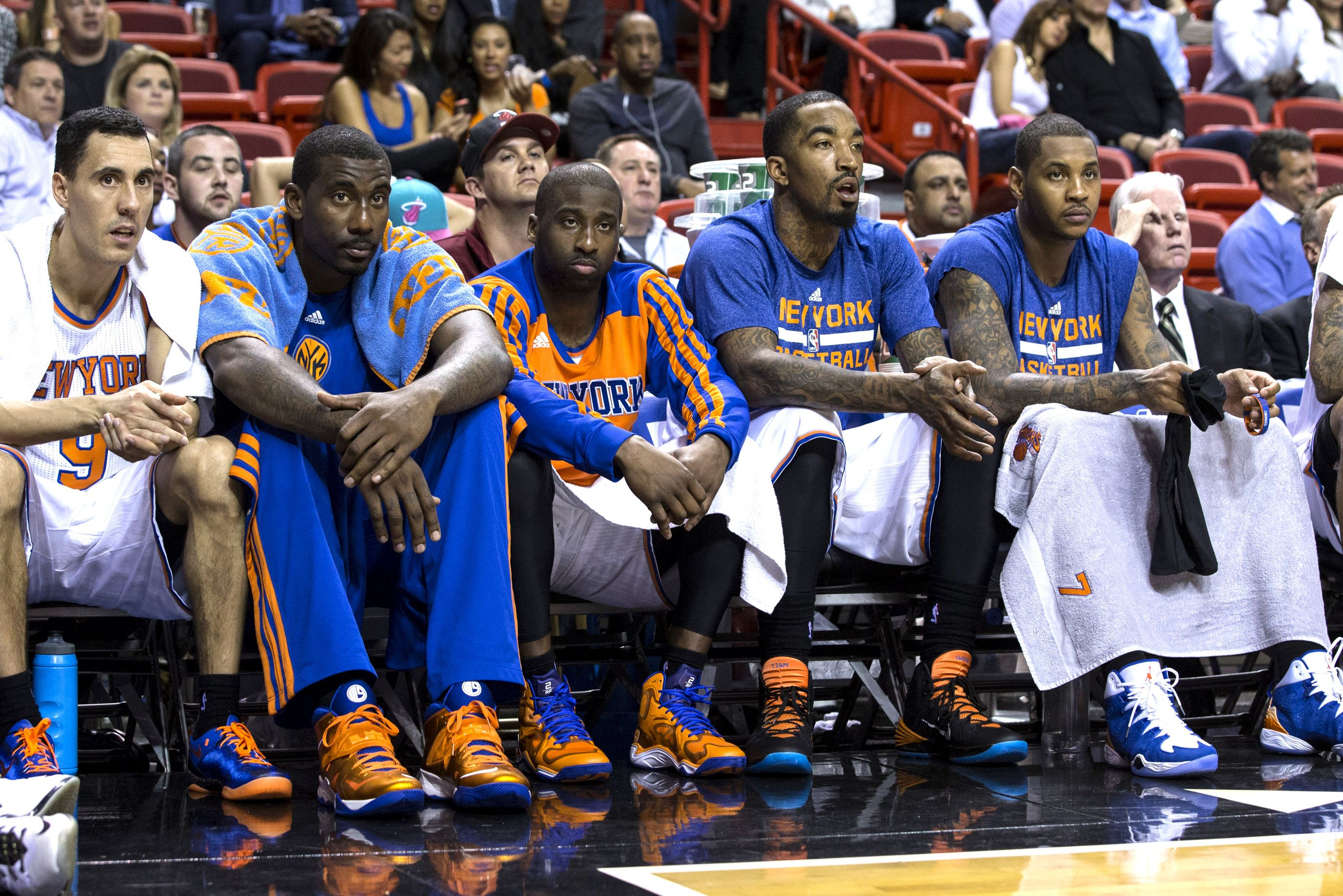 Can The Knicks Have One Of The Nba S Best Benches Basketball Teams Knicks Basketball Knicks
