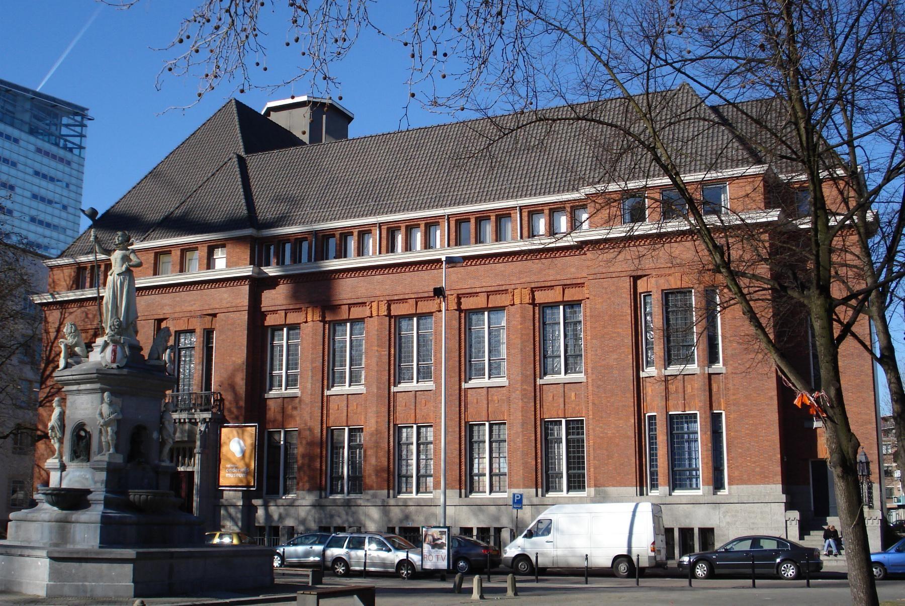 Onderwijsmuseum in Rotterdam. Onderwijsgeschiedenis