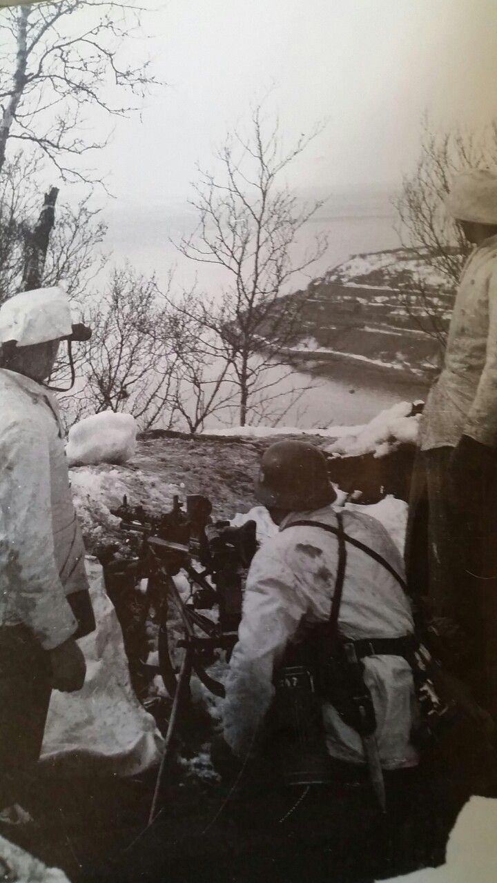 Battle Of Bjerkvik Miguiza A German Machine Gun Post Overlooking A Fiord Near